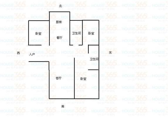 万和城国际广场B区13室2厅2卫140㎡