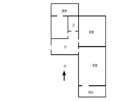 联强小区2室1厅1卫61㎡